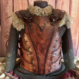 "The Asmund ""Skuldro"" Deluxe SCA Leather Armour"