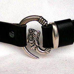 Belt with Wolf Fastening