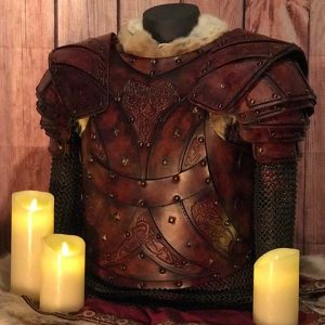 The Bjorn LARP Leather Armour Full Set