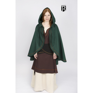 Wool Cape Affra – Ideal For LARP, SCA and Costume