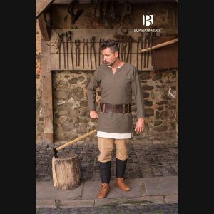 Herring Bone Woven Tunic Tyr – Ideal For LARP, SCA and Costume