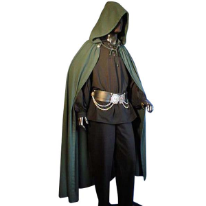 Medieval Cloak – Ideal For LARP, SCA and Costume