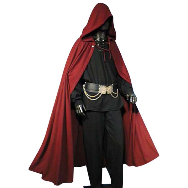 medieval cloak ideal for larp sca and costume www