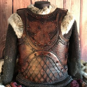 The Odinson LARP Leather Body Armour