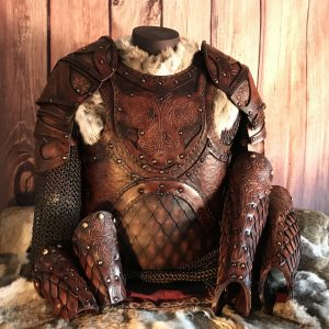 The Odinson SCA Leather Armour Full Set