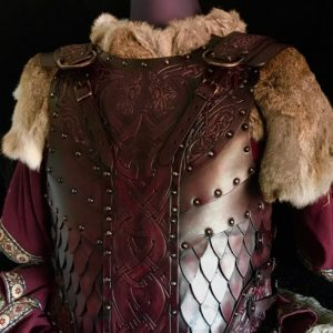 The Sigurd SCA & HEMA Leather Body Armour Full Set