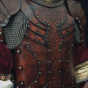 Vendel Wolf LARP Leather Body – With Shoulders