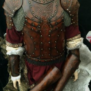 Vendel Wolf Full Set Leather SCA Armour