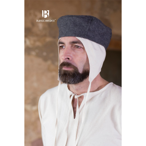 Wool Cap Hugo – Ideal For LARP, SCA and Costume