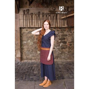 Women's Dress Agga with Apron – Ideal For LARP, SCA and Costume
