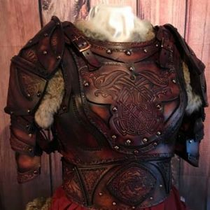 Clan Chief SCA Leather Armour Full Set