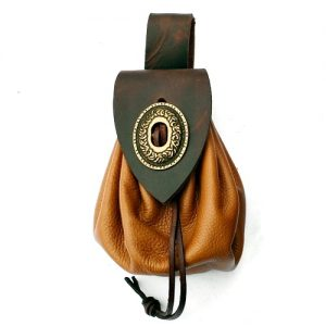 Medieval Belt Purse – Ideal For LARP, SCA and Costume