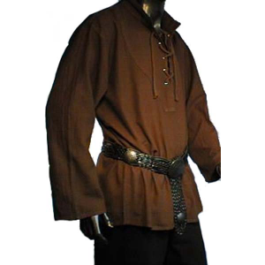 Laced Medieval Shirt  – Ideal For LARP, SCA and Costume