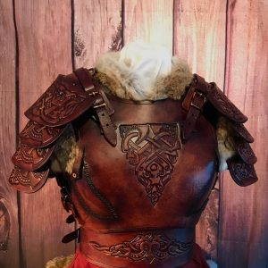 Shieldmaiden Larp Leather Armour