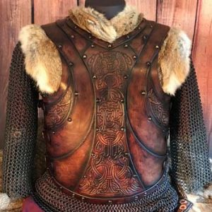 Auction Gunnar LARP Leather Body Armour
