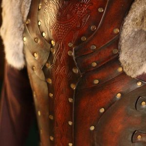 Auction Vendel Raven LARP Leather Body