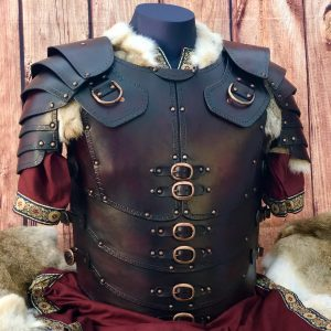 Legio LARP Leather Body with Shoulders