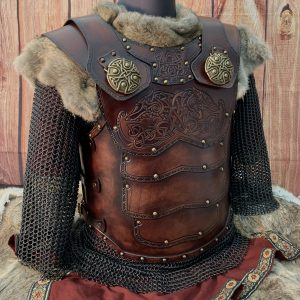 Auction Item Tribesman LARP Leather Body Armour