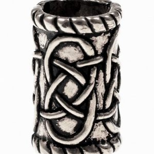Large Celtic Beard Bead Cylinder