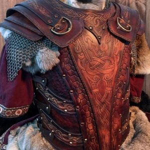 The Asmund Deluxe SCA Leather Armour Full Set