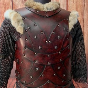 The Plain Bjorn LARP Leather Body Armour