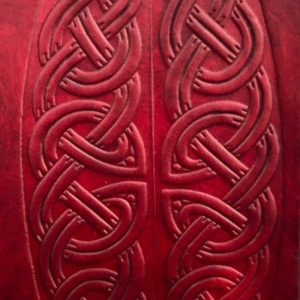 Water Based Leather Stain – Dark Red