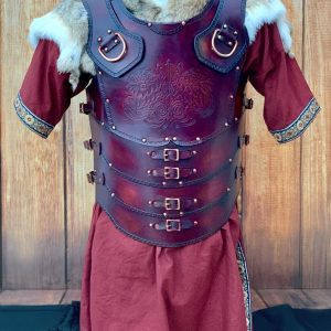 Legio Imperio SCA Leather Body with Shoulders