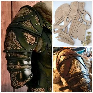 Clan Chief Leather Shoulders Kit